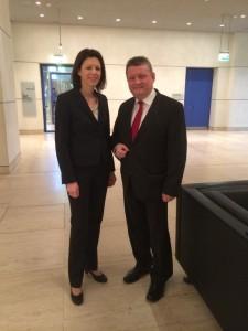 Im Gespräch mit Bundesgesundheitsminister Gröhe