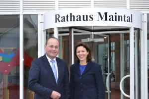 2014-01-23, PM Dr. Katja Leikert - Gespräch Bgm. Rohrbach (2) (Medium)