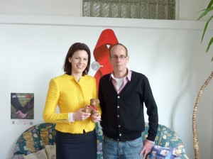 2014-04-08, PM Dr. Katja Leikert -  Gespräch AIDS-Hilfe Hanau (Medium)