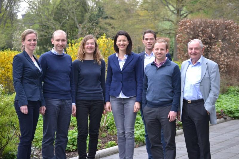 v.l.: Nora von Buttlar, Max Schad, Franziska Groß, Dr. Katja Leikert, Andy Wenzel, Markus Heber und Konrad Jung (nicht auf dem Bild: Claudia Ostrop)