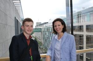 2014-06-11, PM Dr. Katja Leikert MdB - Jugend und Parlament