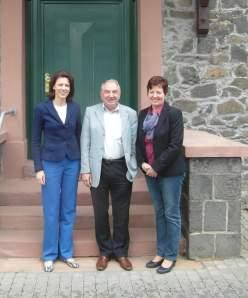 Besuch Bürgermeisterin Rück Schöneck 1