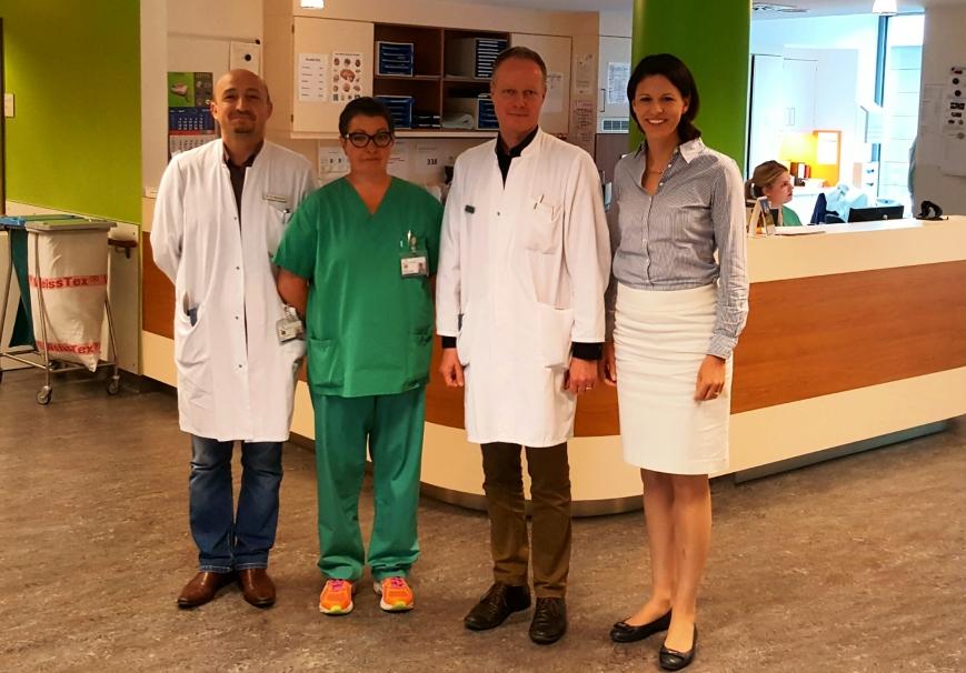 Zu Besuch bei der Schlaganfallversorgung des Klinikums Hanau