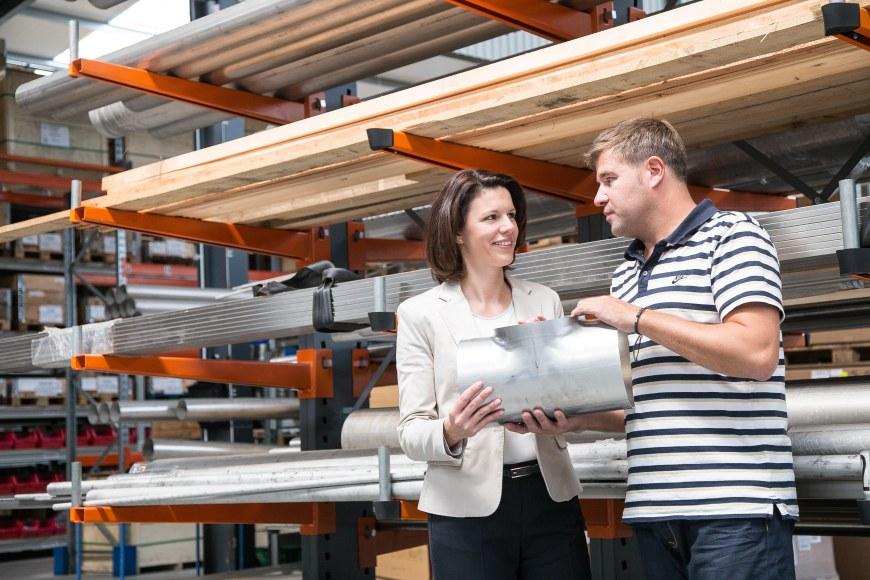 Zu Besuch bei der Firma Badtke Edelstahl GmbH in Langenselbold