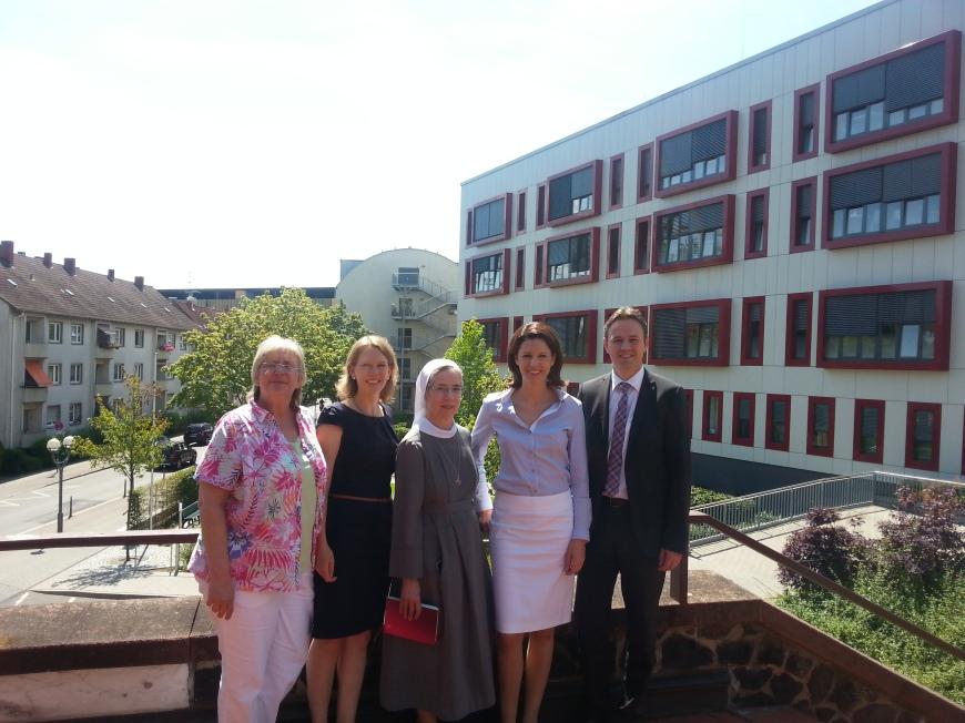 Zu Besuch im St. Vinzenz-Krankenhaus Hanau