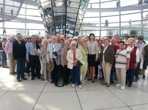 2014-07-31, Dr. Katja Leikert MdB - Besuchergruppe Berlin