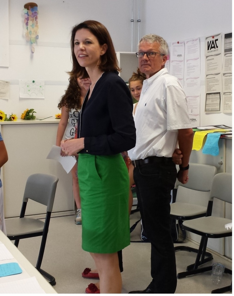 2014-09-11 Dr. Katja Leikert - Heinrich-Böll-Schule