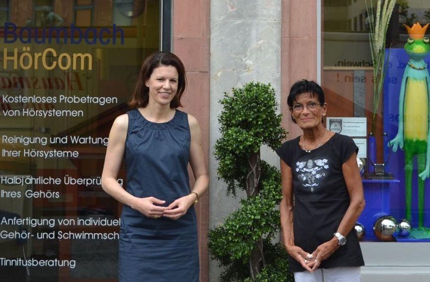 2014-09-15 Dr. Katja Leikert - M.Frickel Baumbach HörCom
