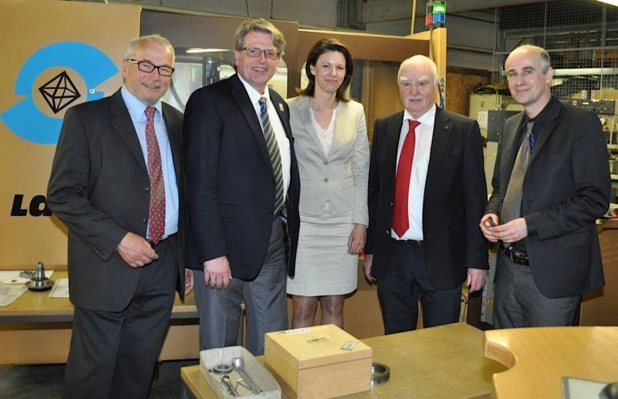 Dieter Hog, Joachim Stamm, Dr. Katja Leikert, Horst und Robert Lach