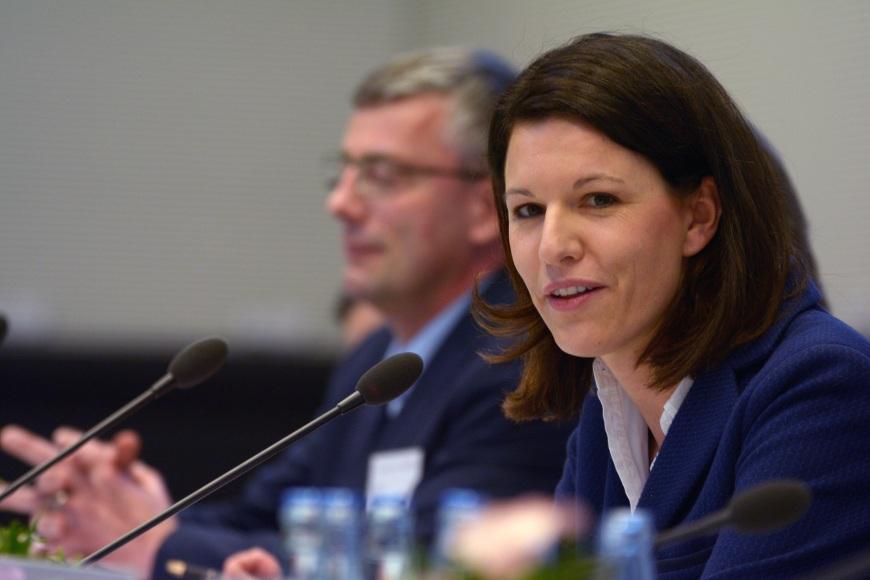 2016-05-09 Dr. Katja Leikert - Moderation Fraktionskongress eHealth I