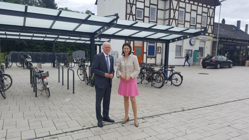 2016-06-30 Dr. Katja Leikert - Bundesmittel Bahnhof Bruchköbel