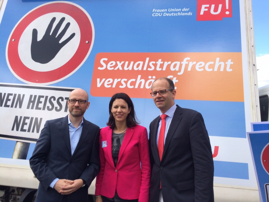 2016-07-11 Dr. Katja Leikert MdB - Verschärfung Sexualstrafrecht