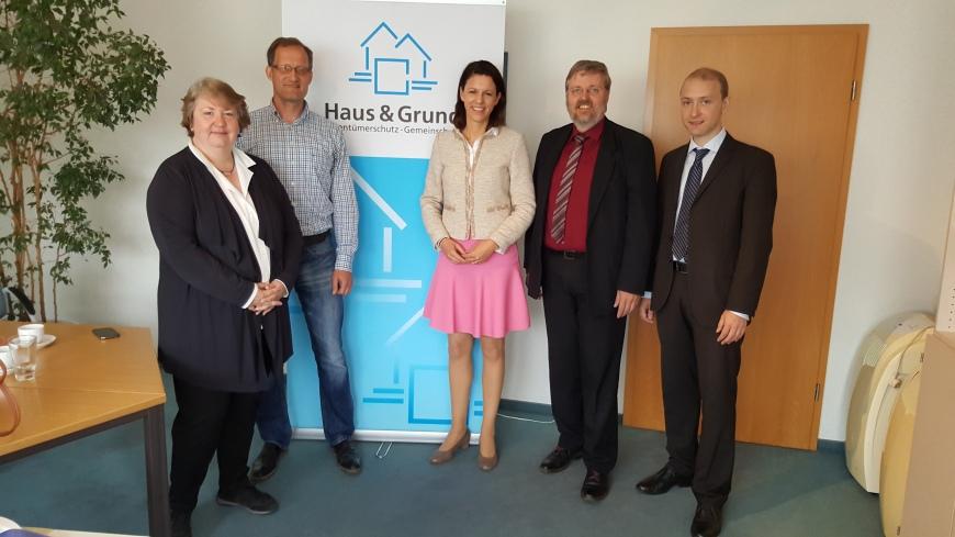 2016-07-14 Dr. Katja Leikert - Haus und Grund Hanau