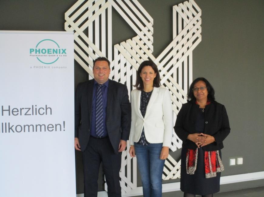 Christoph Greulich, Dr. Katja Leikert und Srita Heide