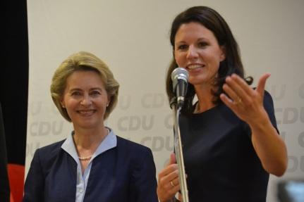 2017-08-18 Dr. Katja Leikert - Veranstaltung Ursula von der Leyen I