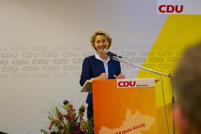 2017-08-18 Dr. Katjka Leikert - Veranstaltung Ursula von der Leyen II